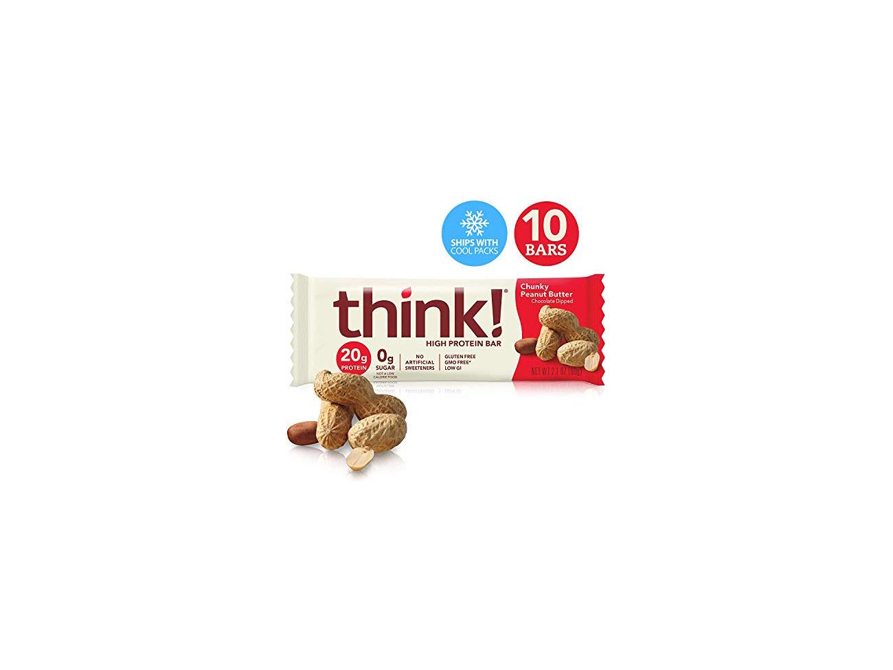 Buy Thinkthin High Protein Bars Chunky Peanut Butter 2 1