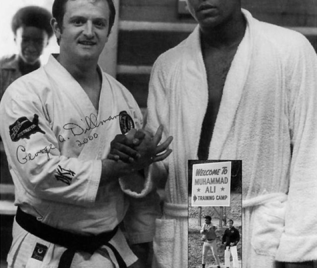 American Ryuku Kempo Karate Master George Dillman Has Been A Successful Figure In The American Martial Arts Scene Since The 60s Hes Taught Muhammad Ali