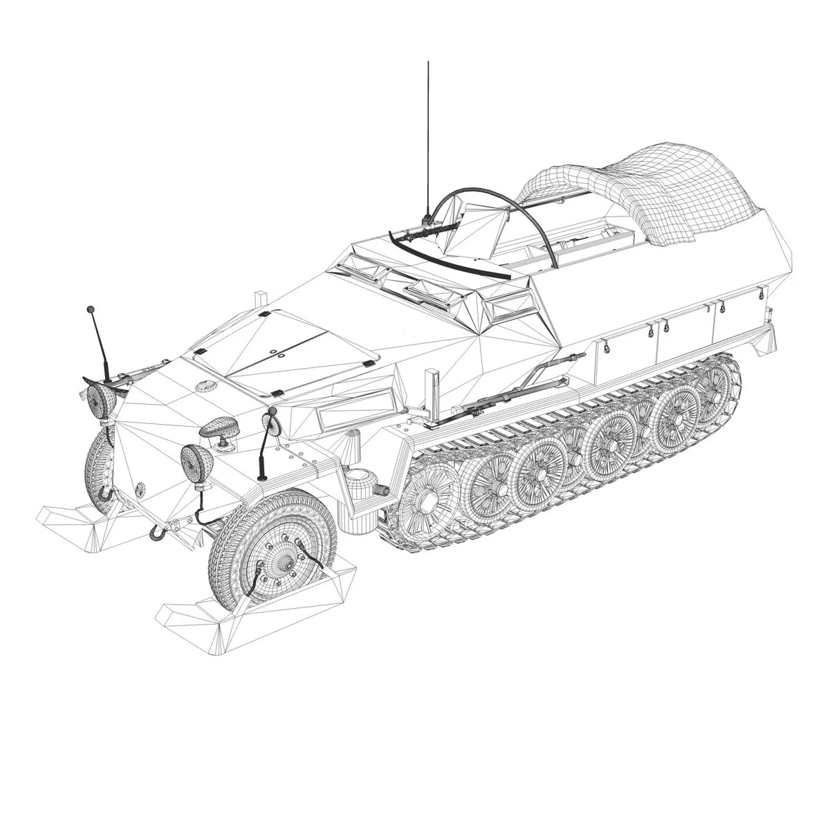 Sd Kfz 251 1 Ausf C
