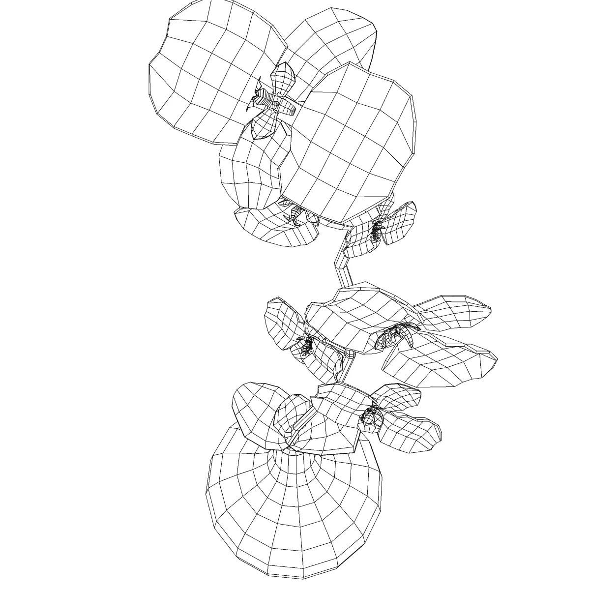 Flower Base 3d Model
