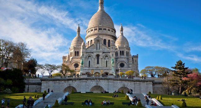 Image result for Basilique du Sacr-C…ur in Paris, France