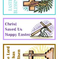 Christian Easter Bookmarks