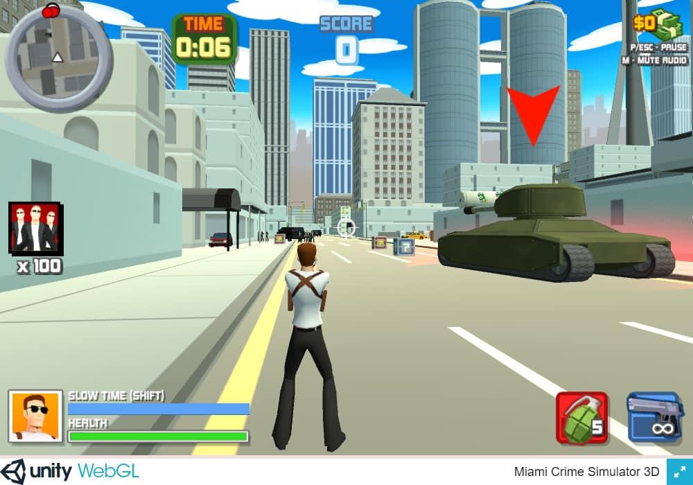 Miami Crime Simulator 3D - Kostenloses Online-Spiel ...