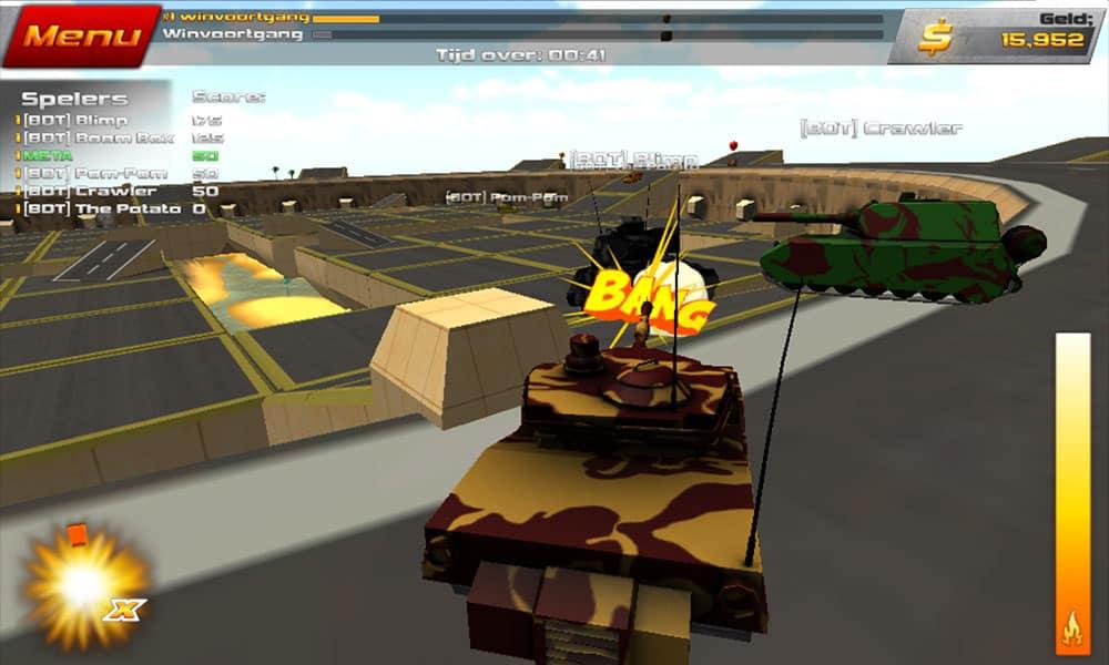 Crash Drive 2 Tank Battles Game FunnyGamesin