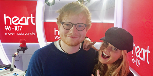 Image result for ed sheeran and emma bunton
