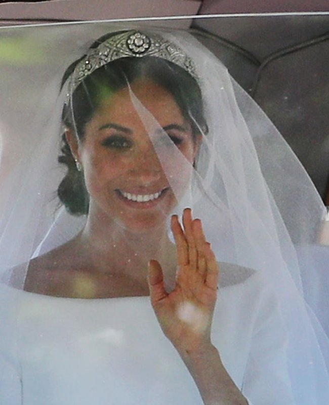 The Queen Loaned Meghan Markle A Priceless Diamond Tiara
