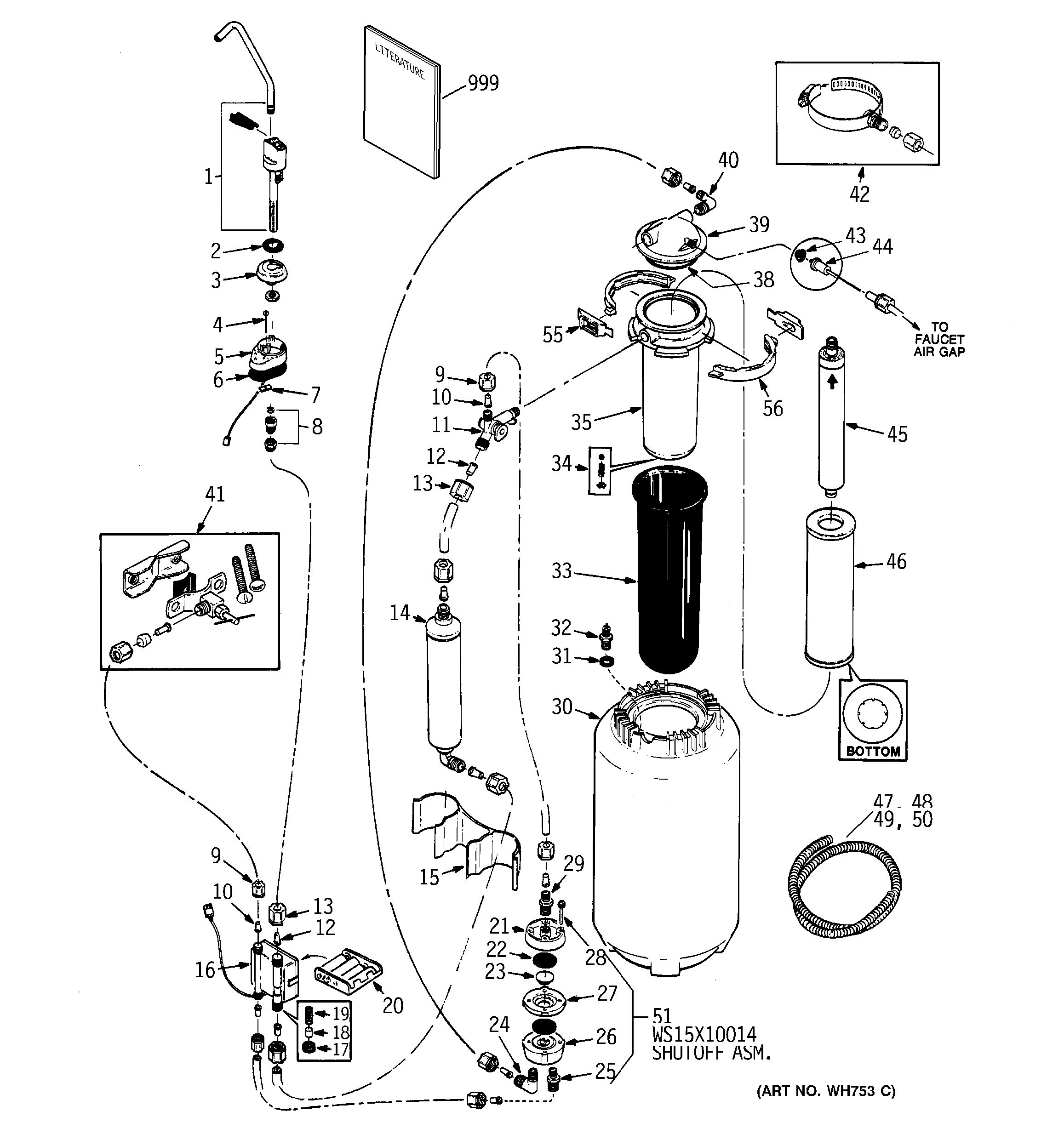 Ge Reverse Osmosis Parts