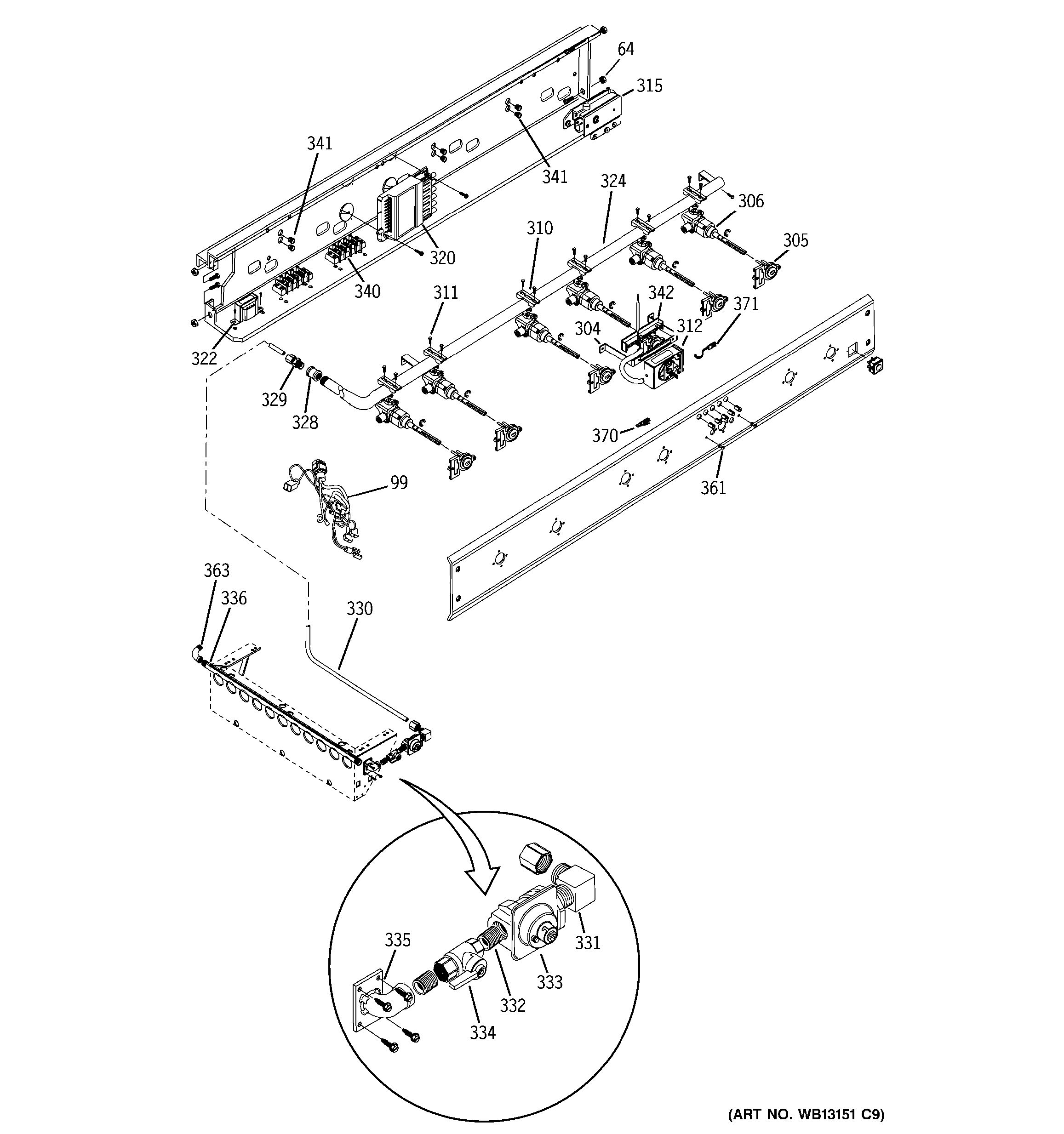 Assembly View For Manifold Assembly