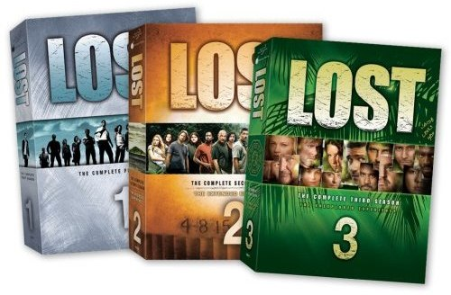 Lost seasons 1-3