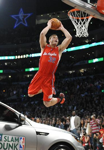 2011 Sprite  Slam Dunk Contest winning dunk By Blake Griffin over KIA sports car