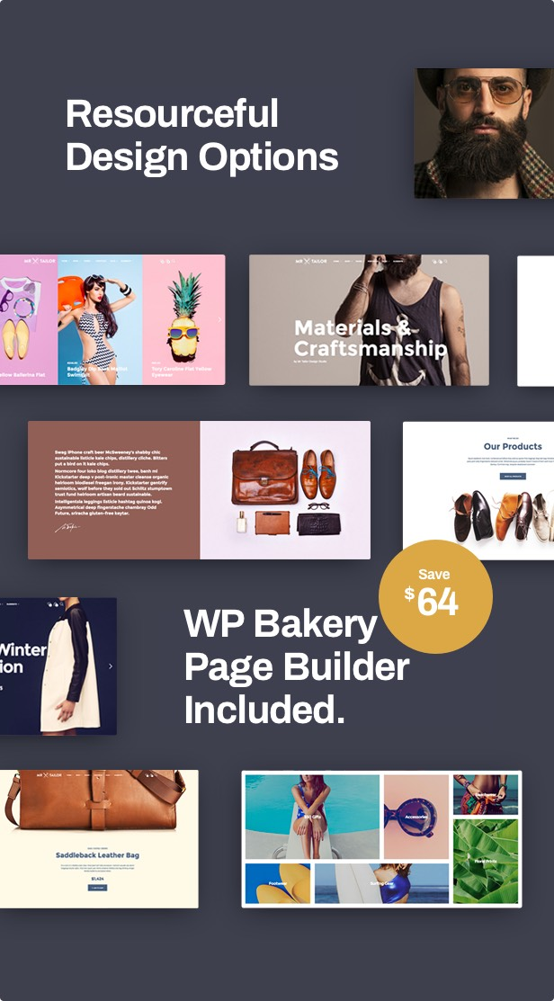 Mr. Tailor - eCommerce WordPress Theme for WooCommerce - 10