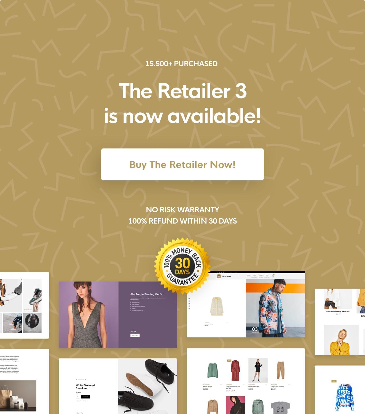 The Retailer - eCommerce WordPress Theme for WooCommerce - 8