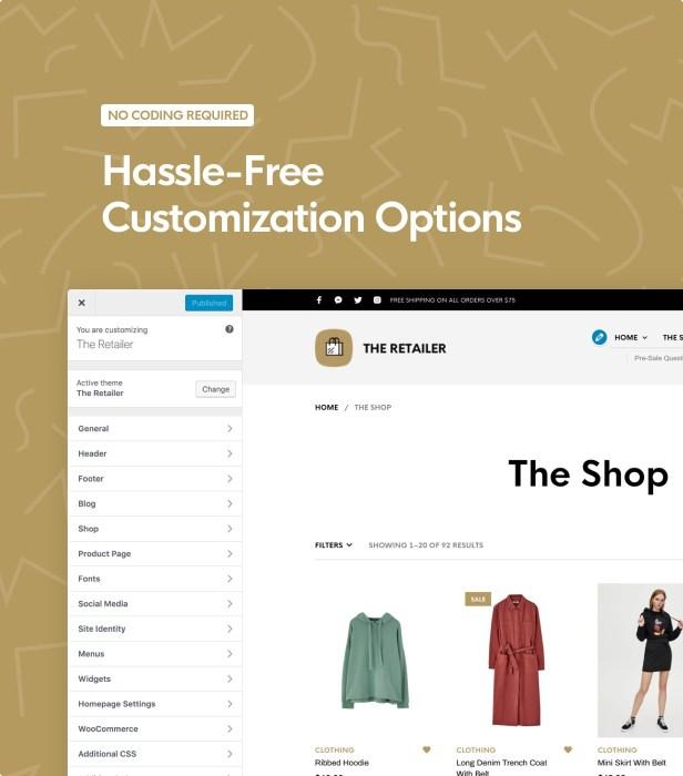 The Retailer - eCommerce WordPress Theme for WooCommerce - 20