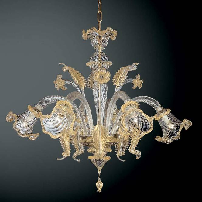Geppa Murano Glass Chandelier