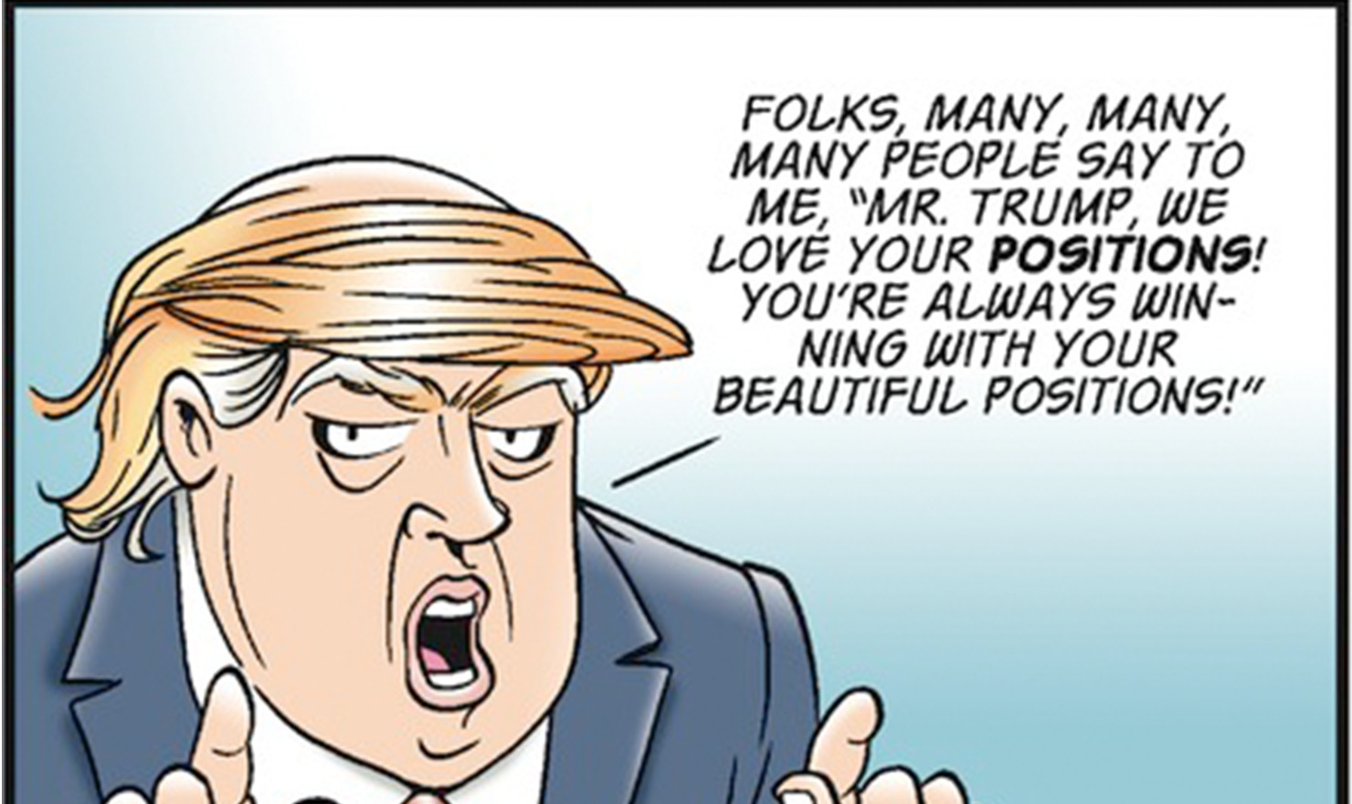 Image result for Garry Trudeau Cartoons on trump