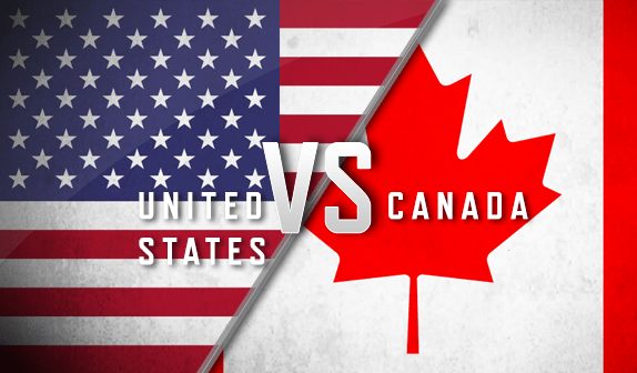 Image result for usa vs canada
