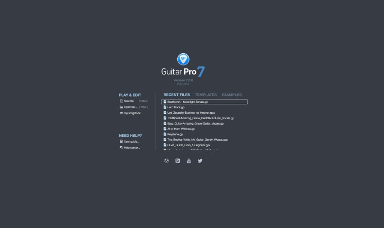 guitar pro 7.5 | how it works?