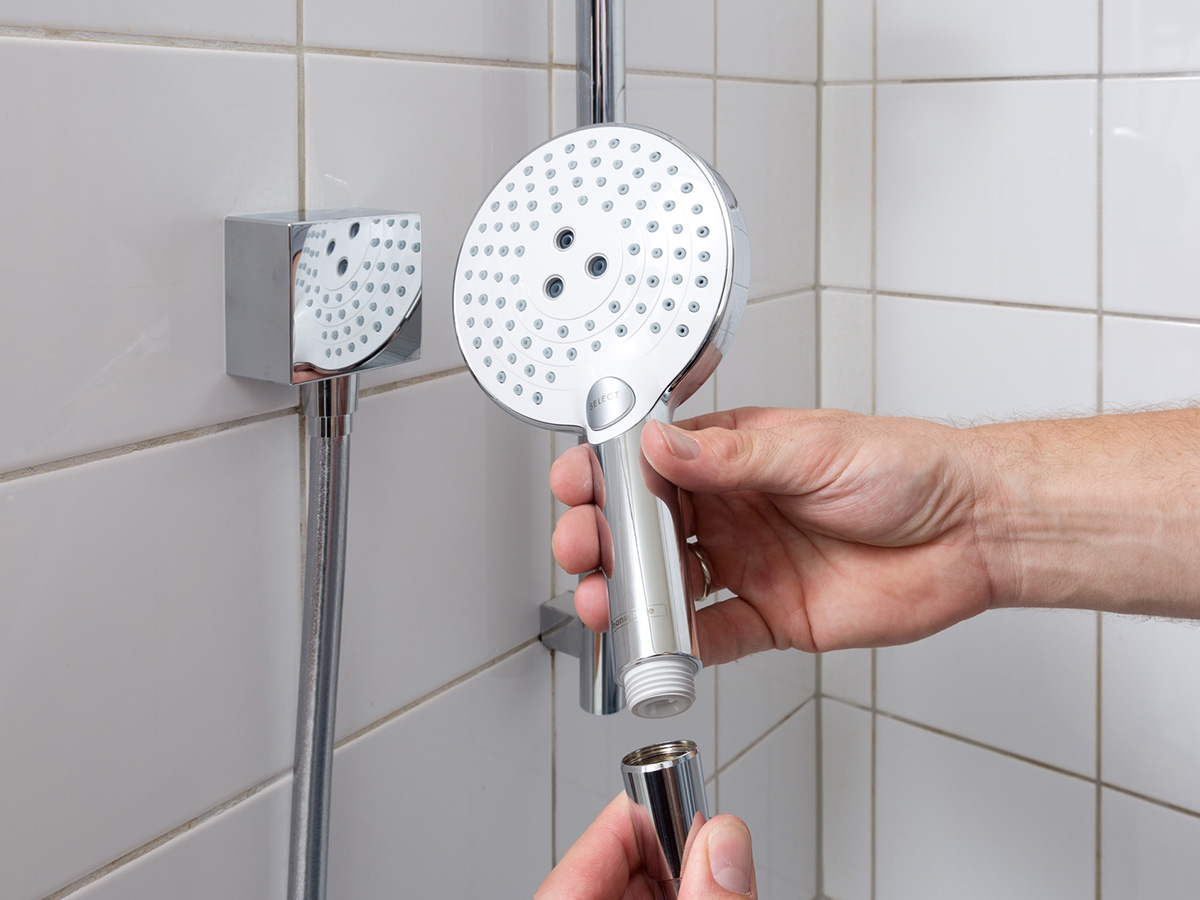 concealed installation for the shower