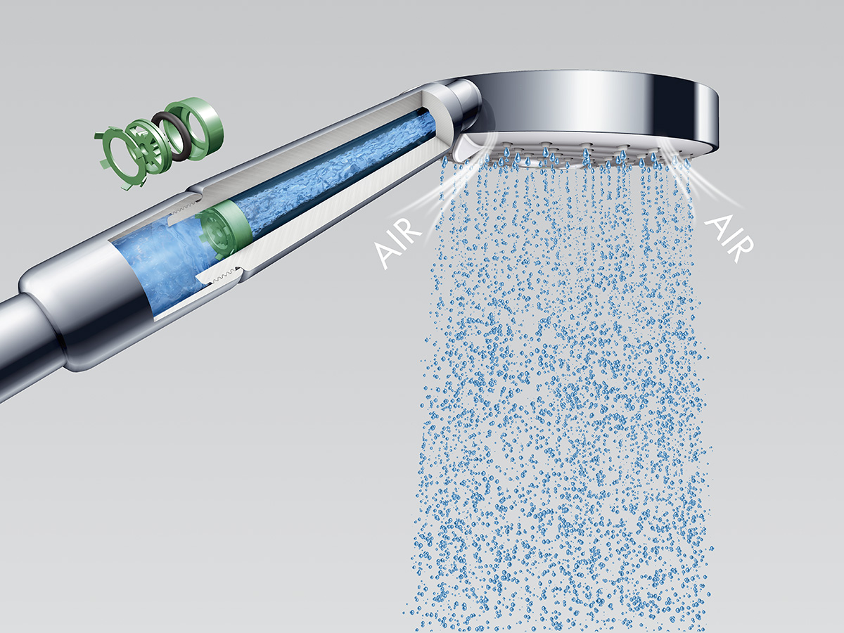 hansgrohe ecosmart conserve water in