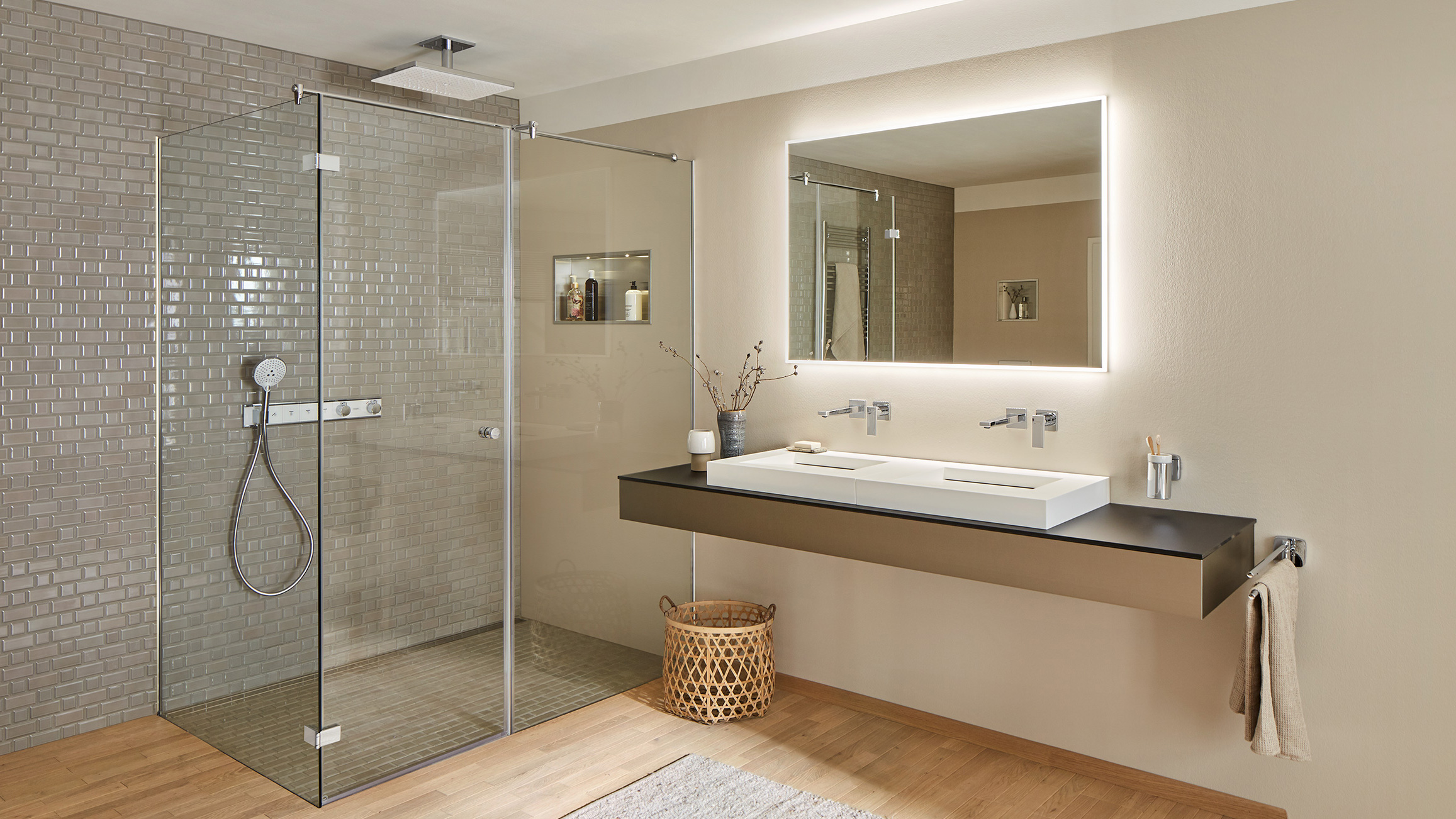 subway tiles are on trend in modern
