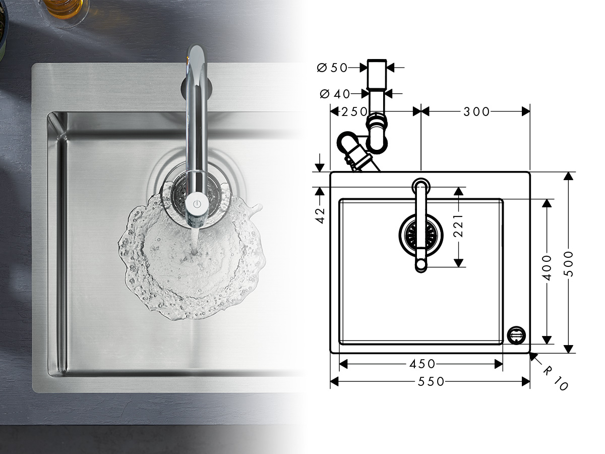 find spare parts for kitchen sinks and