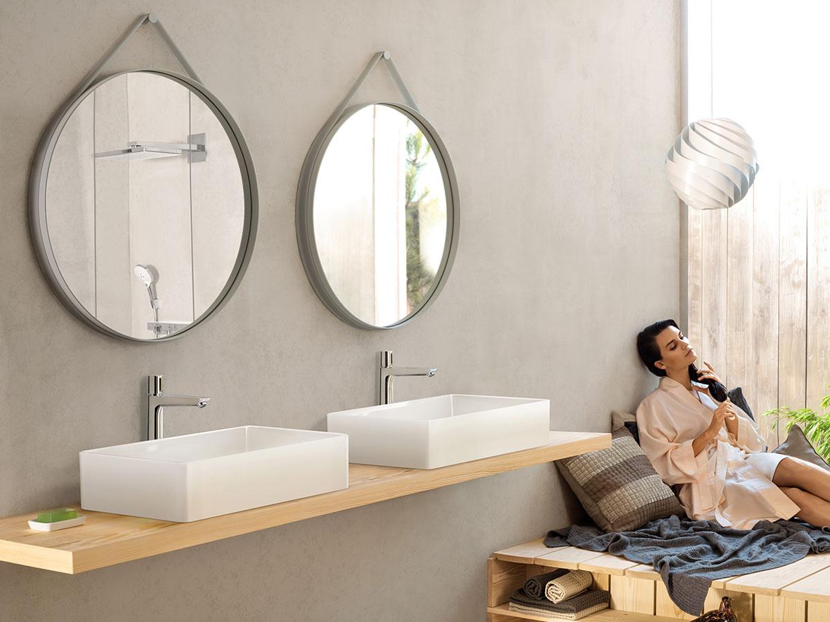 Moderne Badevaerelser Ideer Til Design Af Dit Bad Hansgrohe Dk