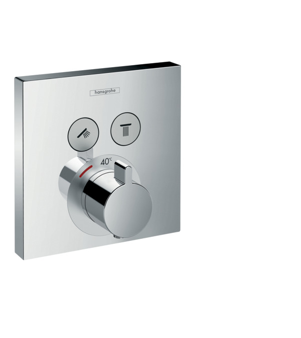 showerselect shower mixers 2 functions