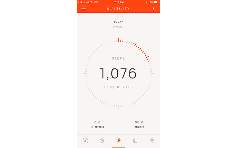 The app is cleanly designed and comes with detailed instructions for the watch.