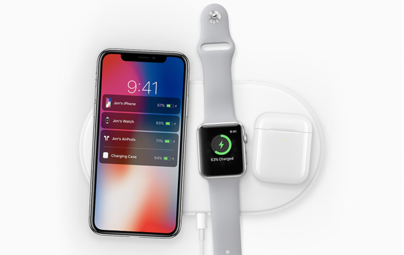 Apple's own AirPower wireless charging mat should be using more wireless charging coils to enable multi-device charging. I wonder what's the power output and why is it only available in 2018.