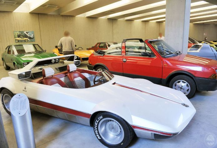 remainder of the bertone concept car collection, rights to