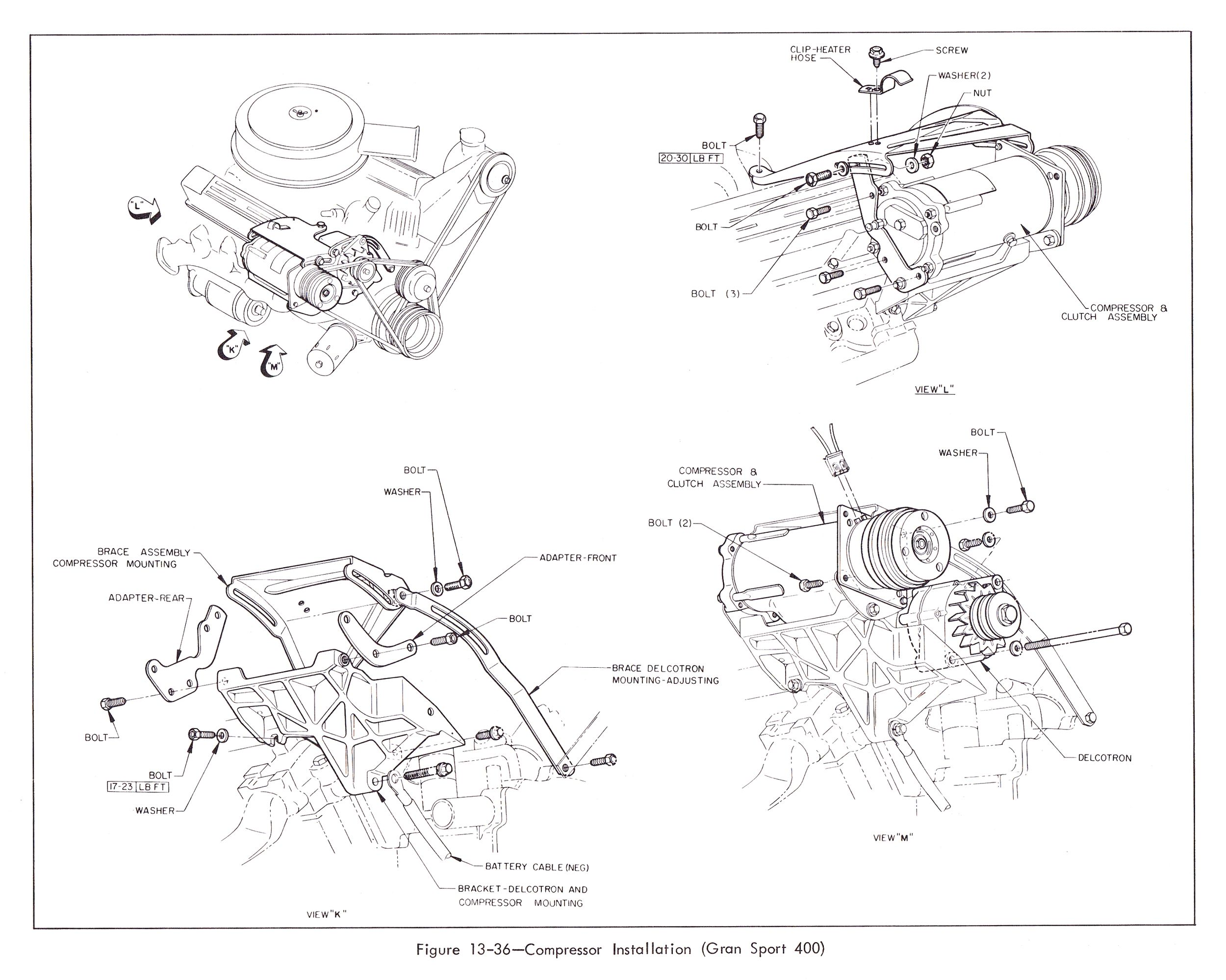 Olds Cutlass Wiring Diagram