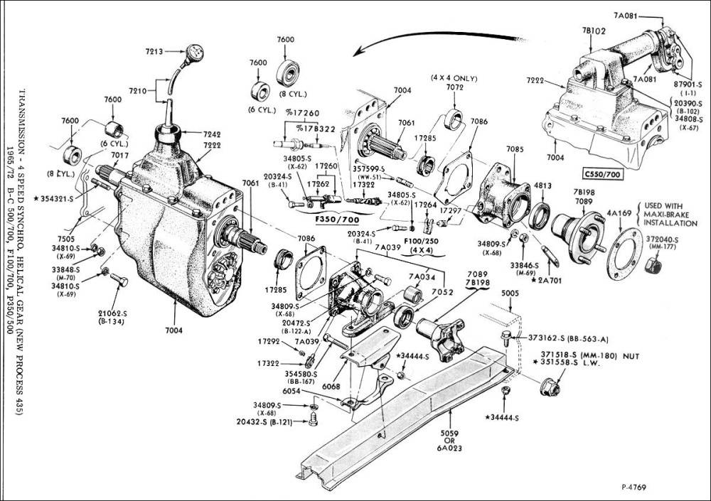Np435 Transmission Diagram