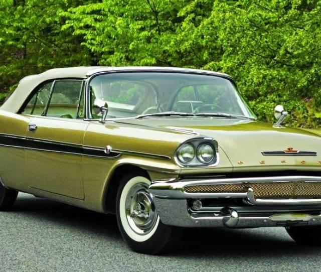 After A Two Decade Delay A Rare 1958 De Soto Adventurer Is Restored