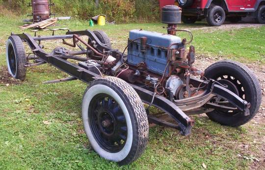 """""""Rolling chassis1933-1934 Chevy Coupe"""""""