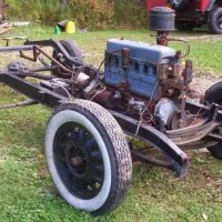 """Rolling chassis1933-1934 Chevy Coupe"", Frame & Chassis for sale 