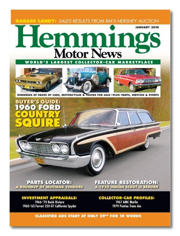 hemmings motor news classifieds | Automotivegarage.org