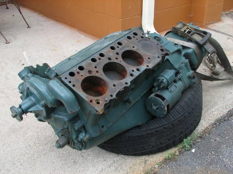 Original 1949 Oldsmobile 303 V8 engine & tra for sale