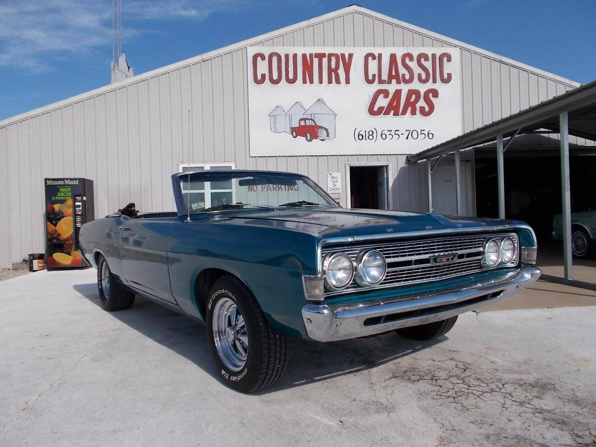 1968 Ford Fairlane for sale  1881752 1968 Ford Fairlane Convertible