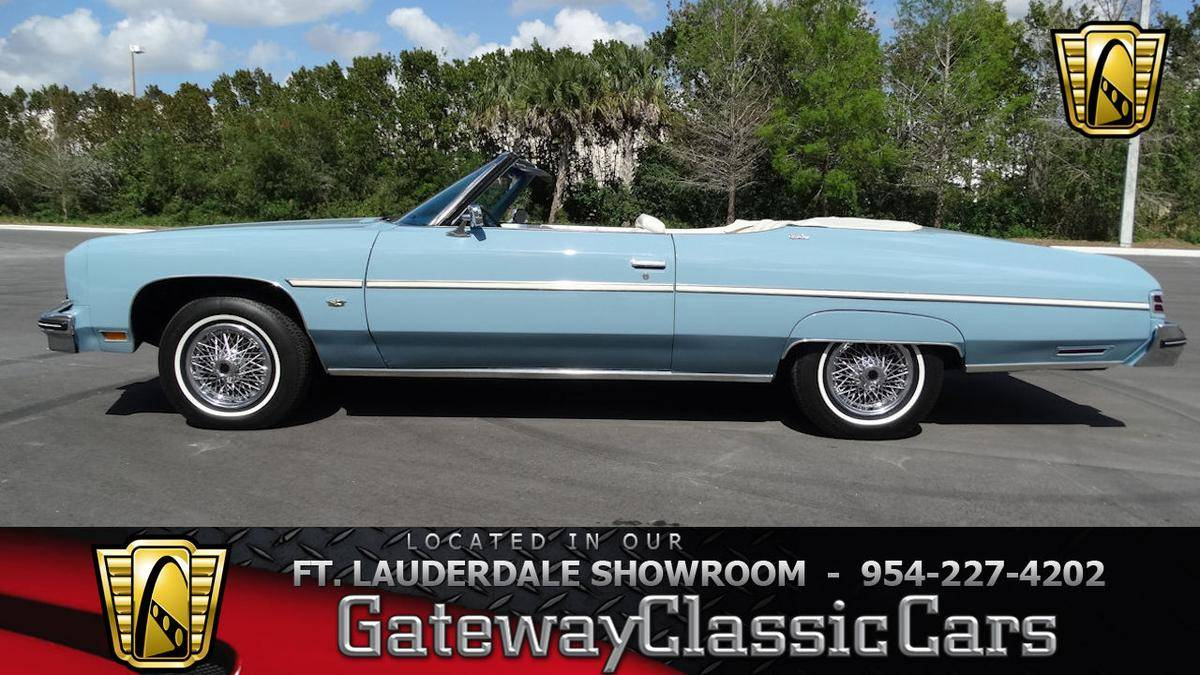 1975 Chevrolet Caprice for sale  2107249   Hemmings Motor News 1975 Chevrolet Caprice Convertible