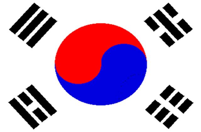 So. Korea Flag