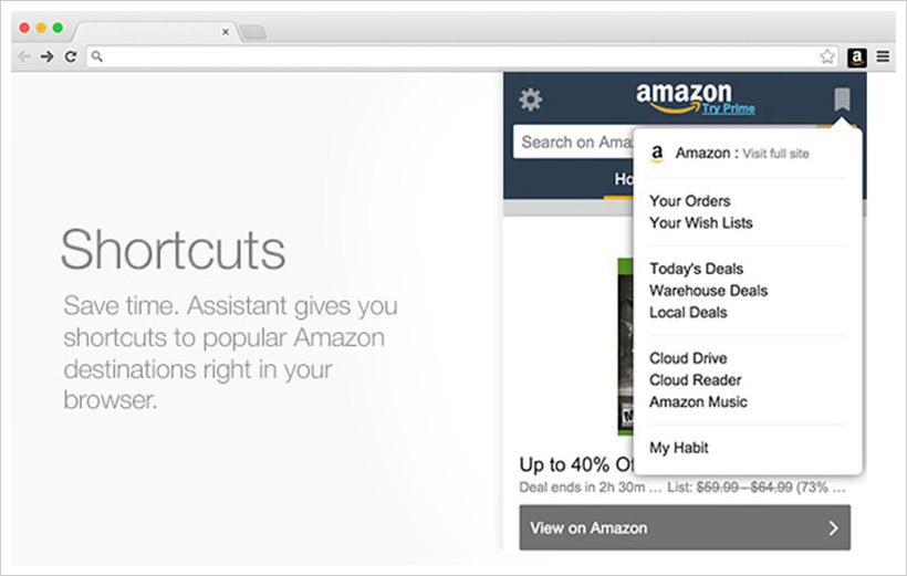 Amazon Assistant для Firefox
