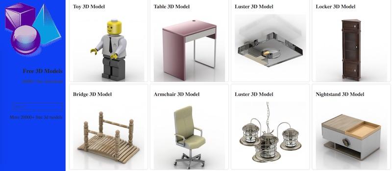 free-3d-models