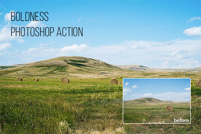 Boldness: Free Photoshop Action