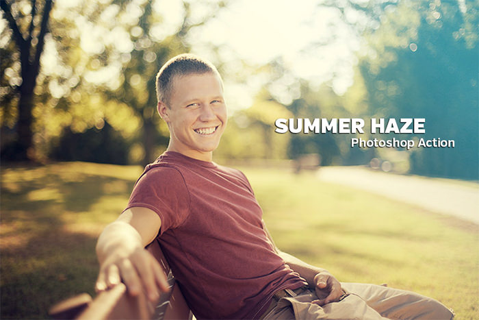 Free Summer Haze Photoshop Action
