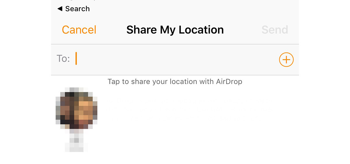 share my location