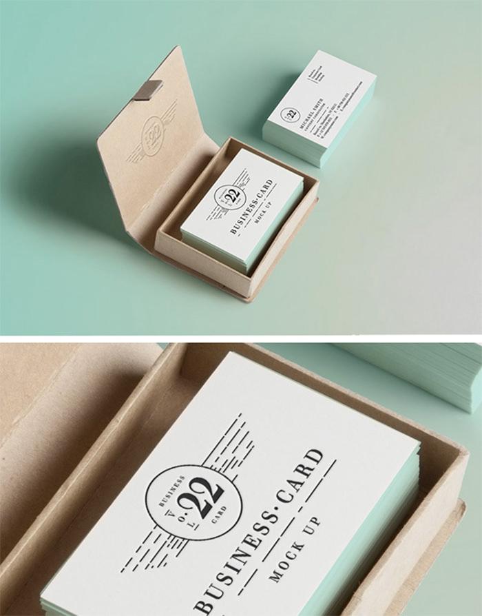 PSD Business Card MockUp #2