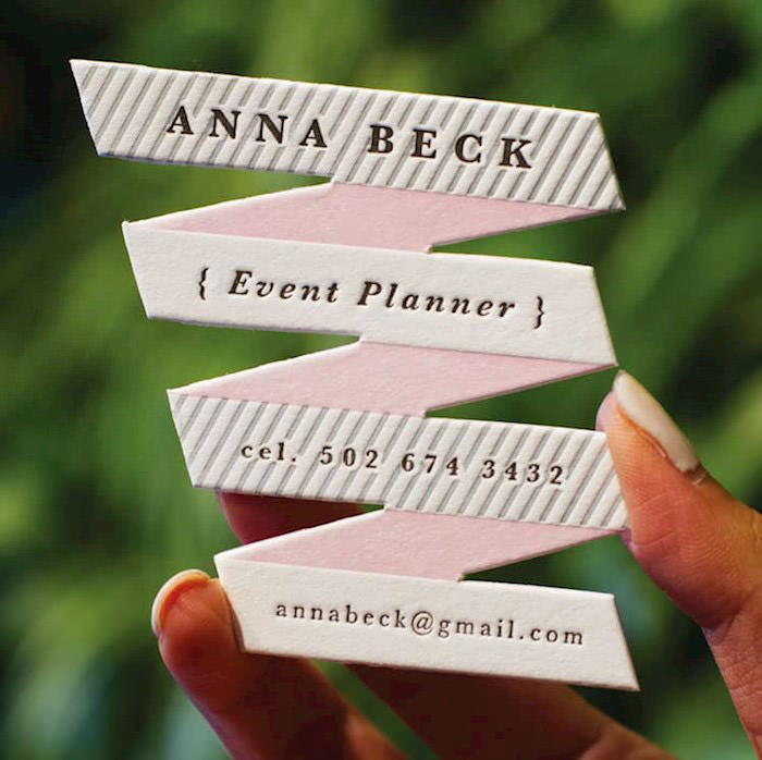 Event Planner's Card