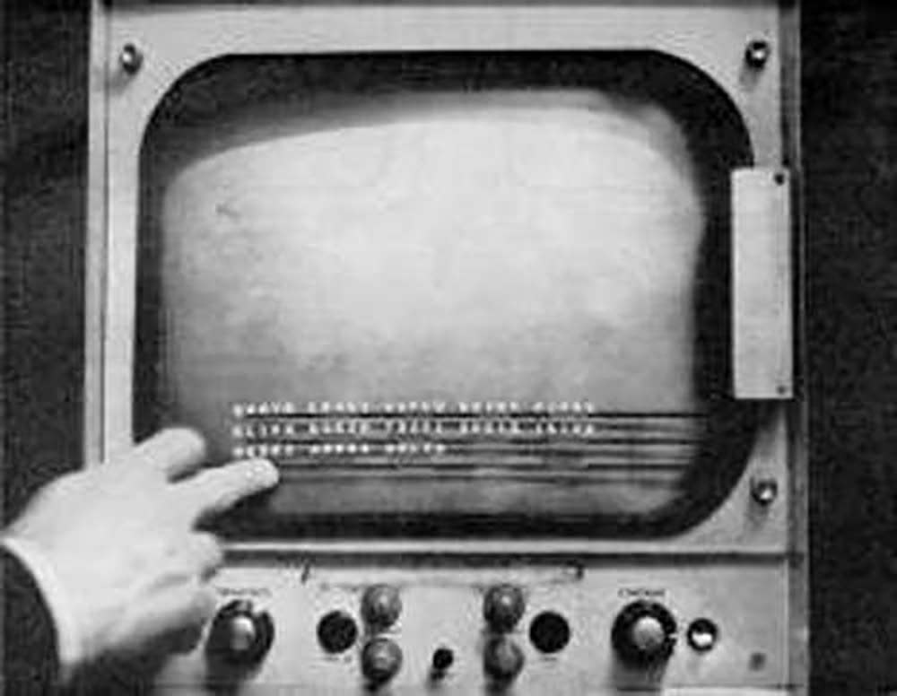 сенсорный экран Johnson