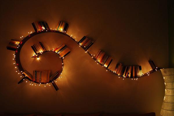 Книжная полка Kartell Bookworm