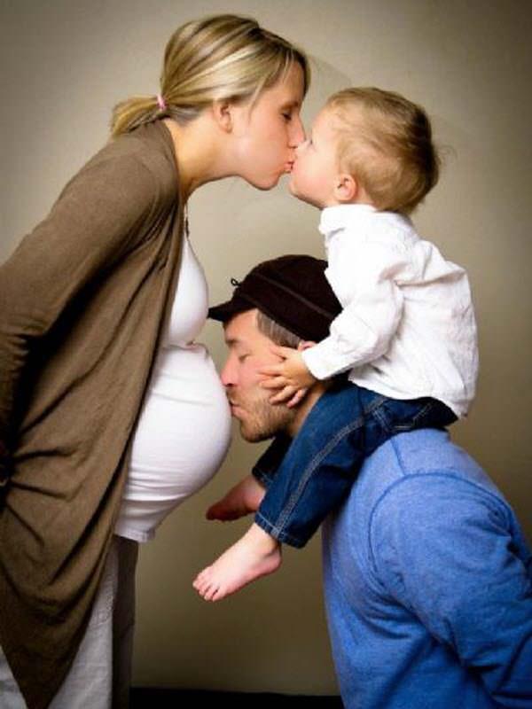 мама, папа, я и младшая сестра